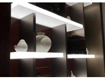 Illuminated Acrylic Shelving