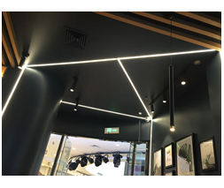 LED Aluminum Channel for Shop Design