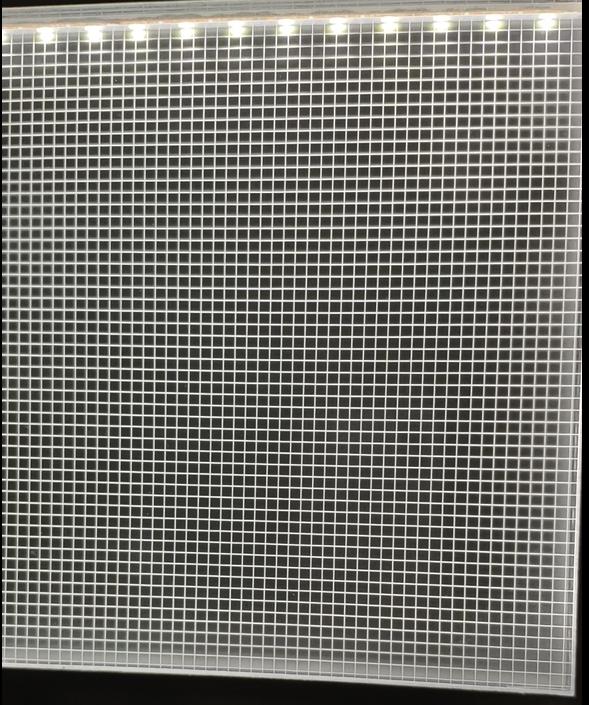 Back light led light panel