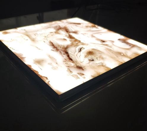 LED Panel Backlit Onyx Stone