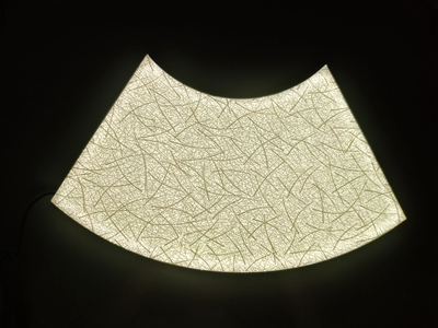 LED Panel Backlit Fabric
