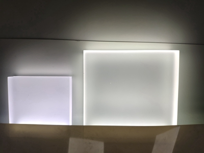 edge-lit acrylic sheet